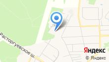 Видновская средняя общеобразовательная школа №6 на карте