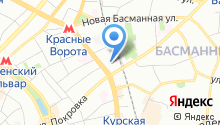 Центральное юридическое управление на карте