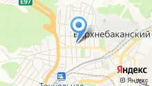 Администрация Верхнебаканского поселкового округа на карте