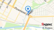 АВТОТЕХЦЕНТР НА ЛОЖЕВОЙ на карте