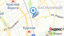 1С: Альфа-Офис на карте