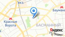 Центральный научно-исследовательский радиотехнический институт им. А.И. Берга на карте