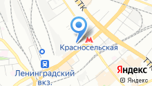 Эскалаторная служба на карте