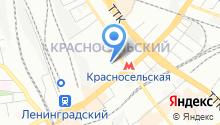 1-й отдел полиции УВД на Московском метрополитене Главного управления МВД России по г. Москве на карте