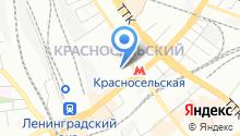 1-й отдел полиции УВД на Московском метрополитене ГУ МВД России по г.Москве на карте