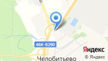 Мастерофф на карте