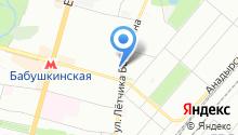 Эскарп-43 на карте