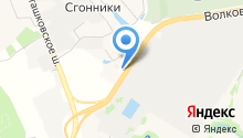 АЗС Трасса на карте