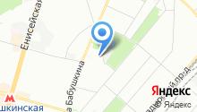 22-й отряд ФПС по г. Москве на карте