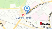 23-й отряд ФПС по г. Москве на карте