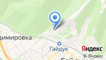 Атакайцемент на карте