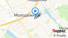 Медвенская средняя общеобразовательная школа на карте