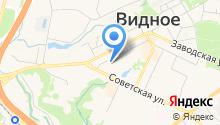 Видновская районная клиническая больница на карте