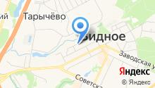 Мировые судьи Видновского района на карте