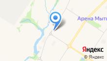 Венд-Авеста на карте