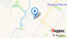 Автостоянка на Сукромке на карте