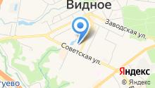 Видновские вести на карте