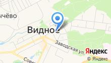 Видновская средняя общеобразовательная школа №1 на карте