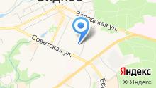 Видновское на карте