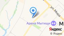 Астэц на карте