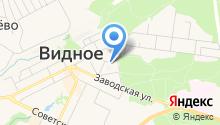 Видновская центральная районная больница на карте
