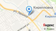 Новокар Юг на карте