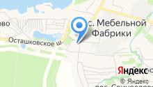 Пироговская Баня на карте
