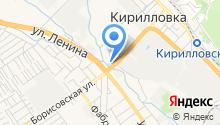 Автосервис на Кирилловской на карте