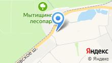 Автовираж на карте