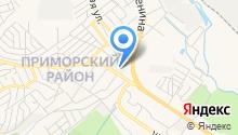 Аква-Юг Новороссийск на карте