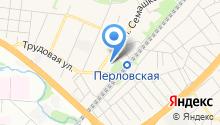 Городская детская поликлиника №3 на карте