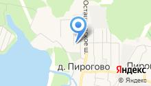Пироговская Ривьера на карте