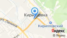 Ютэп на карте