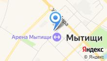 Главное Управление Государственного административно-технического надзора по Московской области на карте