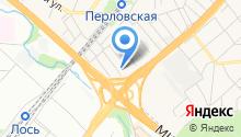 Perlovka guest house на карте