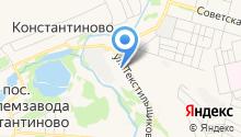 Детский сад №10 на карте