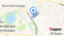 Востряково на карте