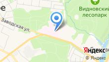 Видновский перинатальный центр на карте