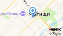 Единая дежурно-диспетчерская служба Мытищинского муниципального района на карте