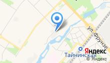 Автомойка на ул. Терешковой на карте
