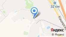 Элсика на карте