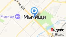 Администрация городского поселения Мытищи на карте
