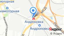 Сеть общежитий «Арал» на карте