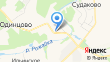 Почтовое отделение №142073 на карте