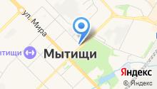 Администрация городского округа Мытищи на карте