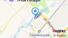 Дом быта на Станционной на карте