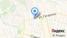 Мастерская по ремонту одежды и изготовлению ключей на ул. Гагарина на карте