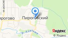 Пироговская сельская детская школа искусств на карте