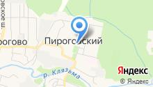 Пироговский на карте