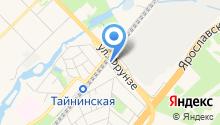 Баня в Тайнинке на карте